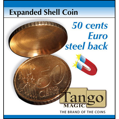 Expanded Shell - 50 Euro Cent (magnetic) - magic