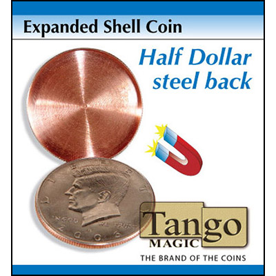 Expanded Shell - Half Dollar (magnetic) - magic
