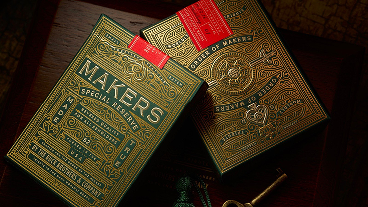 MAKERS Playing Cards - magic