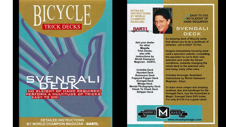 Svengali Deck - Mandolin Back - magic