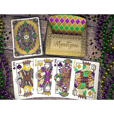 Mardi Gras Playing Cards (limited Edition) - magic