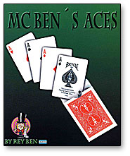 McBen's Aces trick Rey Ben - magic
