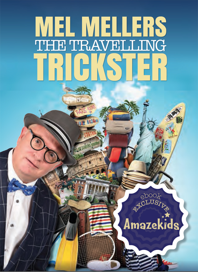Mel Mellers: The Travelling Trickster ebook - magic