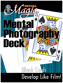 Mental Photo Deck (Royal) - magic