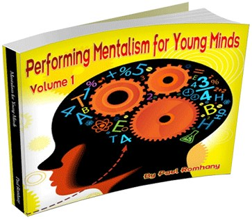 Mentalism for Young Minds - Volume 1 - magic