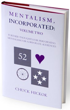 Mentalism Incorporated Volume 2 - magic
