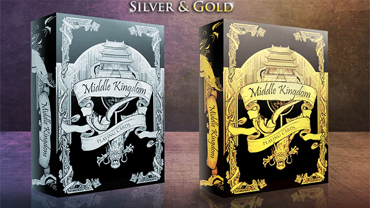 Middle Kingdom (Gold) Playing Cards Printed - magic