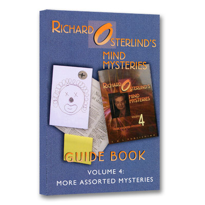 Mind Mysteries Guide Book Volume 4: More Assorted Mysteries - magic