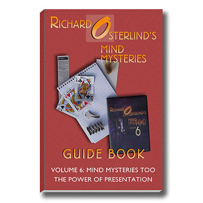 Mind Mysteries Guide Book Volume 6 - magic