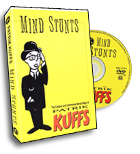 Mind Stunts Kuffs, DVD - magic