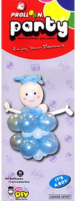 Mini Boy Balloon Kit - magic