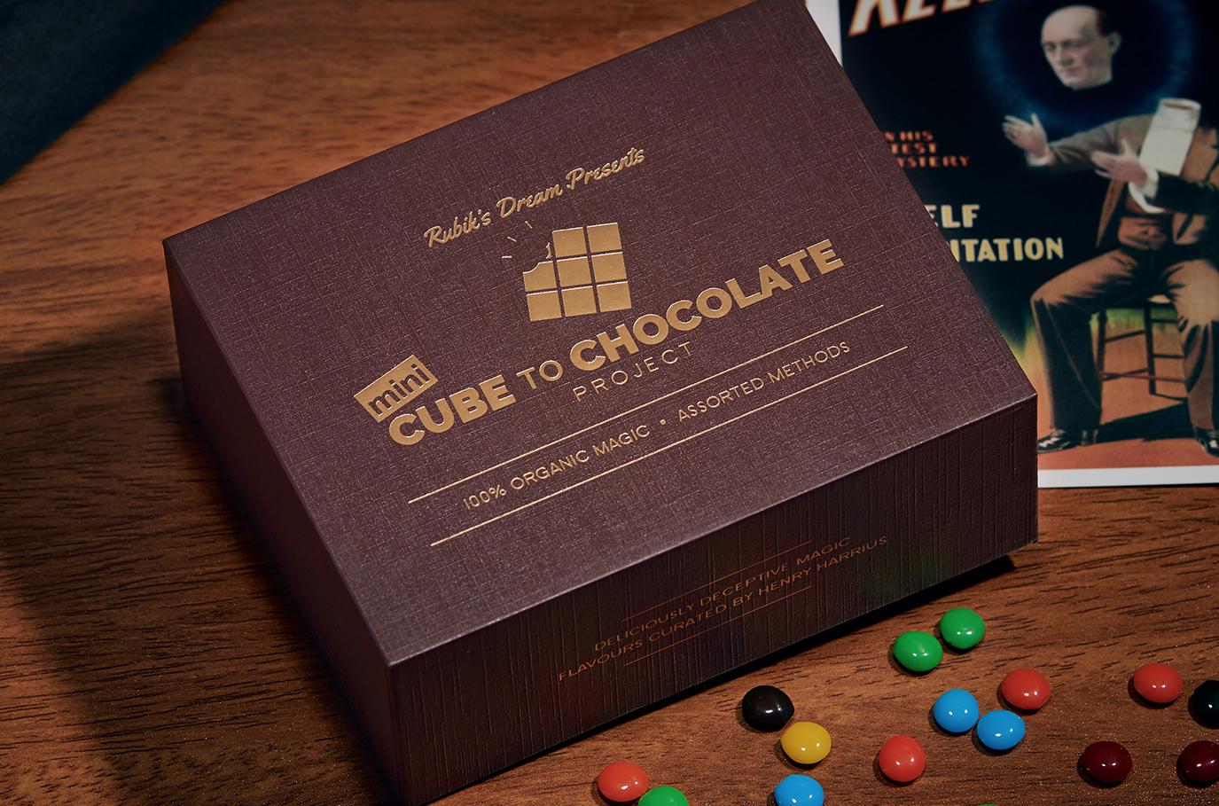 Mini Cube to Chocolate Project - magic