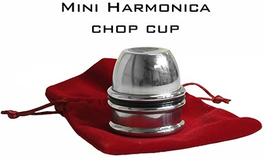 Mini Harmonica Chop Cup - magic