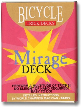 Mirage Deck (Bicycle) - magic