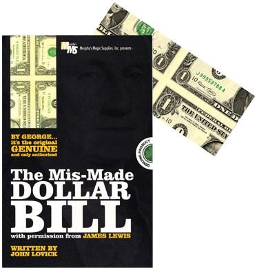 Mis-Made Dollar Bill  - magic