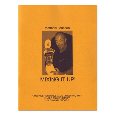 Mixing It Up book Matthew Johnson - magic