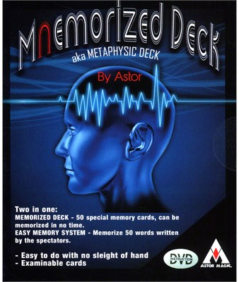 Mnemorized Deck - magic