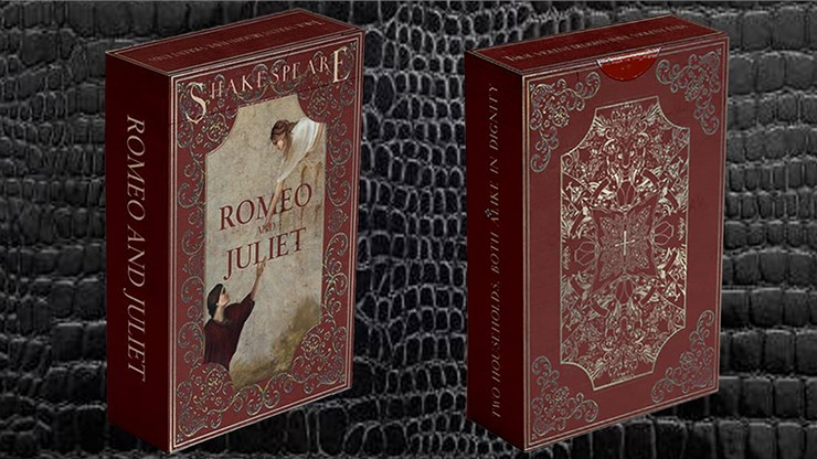 Montague vs Capulet Playing Cards (Deep Red) - magic