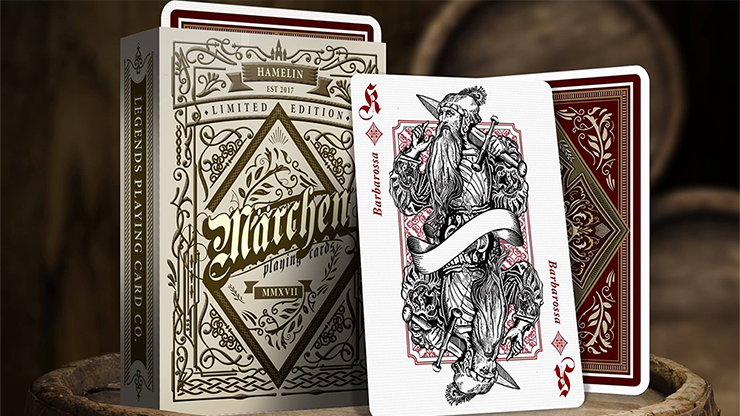 Märchen Hamelin Limited Edition Playing Cards - magic