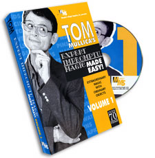 Mullica Expert Impromptu Magic Made Easy Tom Mullica Volume 1, DVD - magic