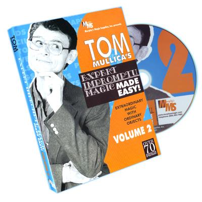 Mullica Expert Impromptu Magic Made Easy Tom Mullica Volume 2, DVD - magic