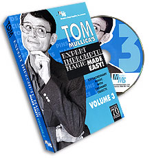 Mullica Expert Impromptu Magic Made Easy Tom Mullica Volume 3, DVD - magic