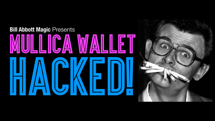 Mullica Wallet Hacked! with DVD, Books, and Props - magic