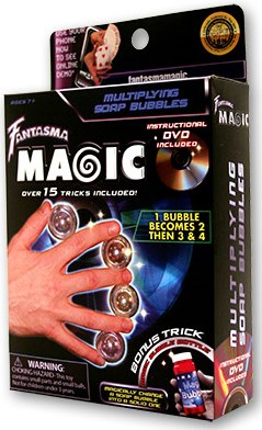 Multiplying Soap Bubbles - magic
