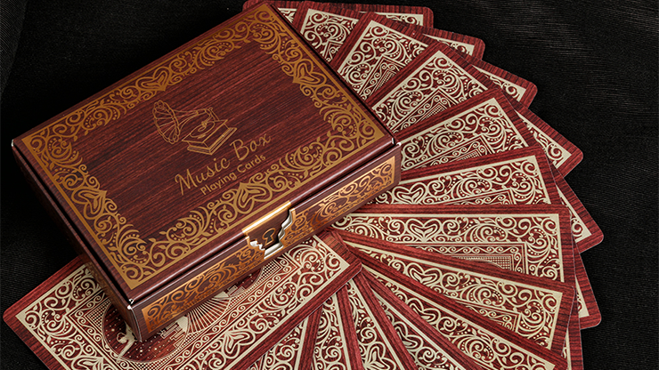 Music Box Playing Cards - magic