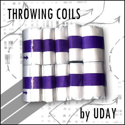 Mylar Throw Coils (Silver) - magic