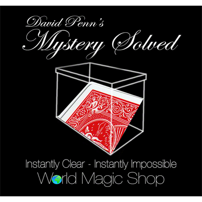 Mystery Solved - magic