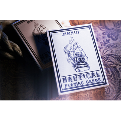 Nautical Playing Cards (Blue) - magic