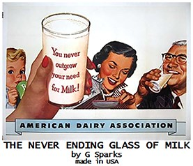 Never Ending Glass of Milk - magic