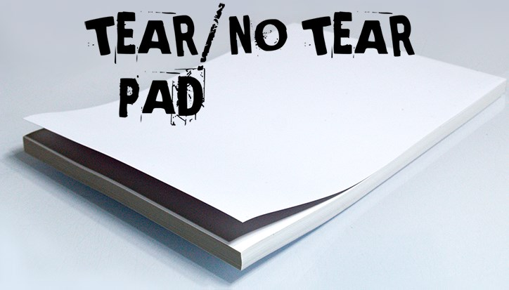 No Tear Pad XL (Tear/No Tear Alternating/ 50) - magic