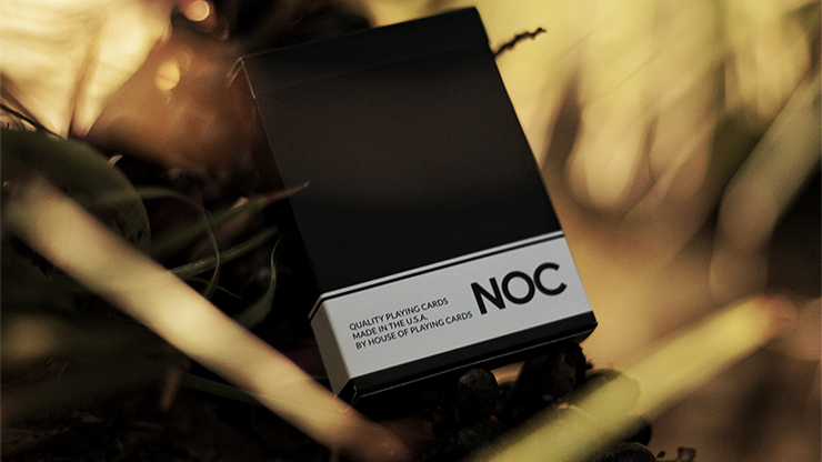 NOC Original Deck (Black) USPCC Printed - magic