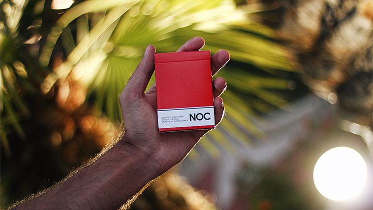 NOC Original Deck (Red) USPCC Printed - magic