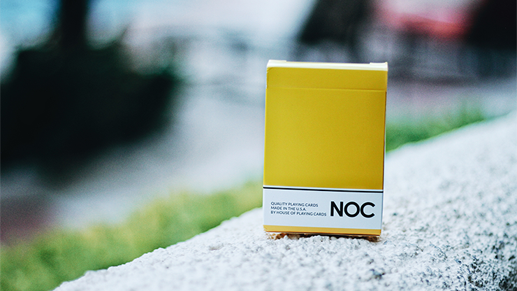 NOC Original Deck (Yellow) USPCC Printed - magic