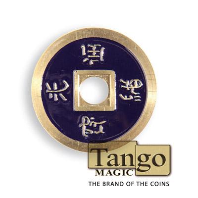 Chinese Coin - Dark Purple - magic