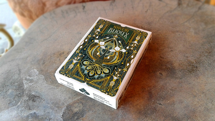 Nouveau Bijoux Playing Cards - magic