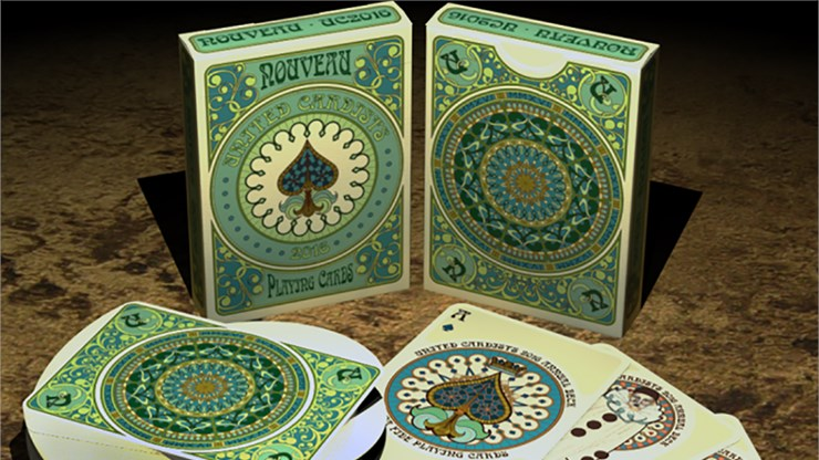Nouveau Playing Cards - United Cardists 2016 Annual Deck - magic