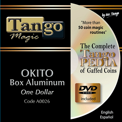 Okito Coin Box - One Dollar size - magic
