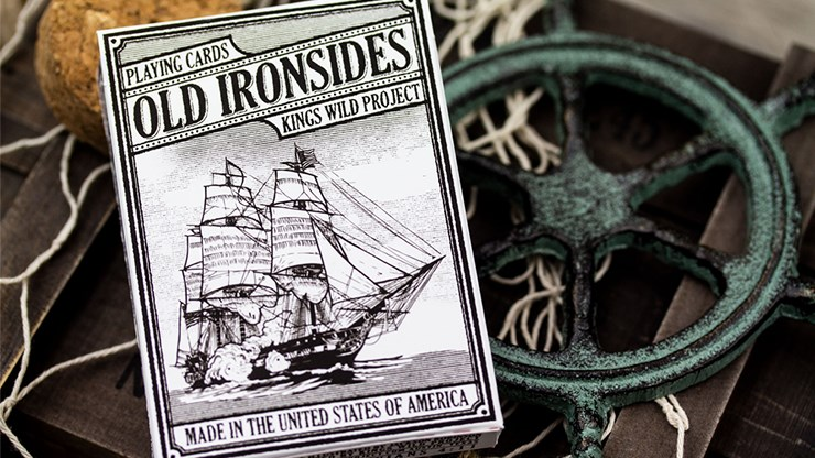 Old Ironsides Playing Cards - magic