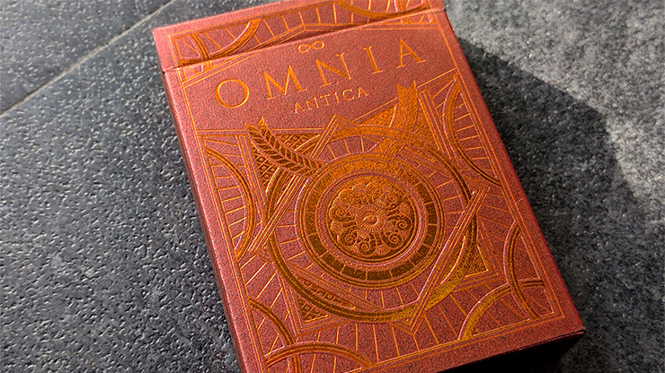 Omnia Antica Playing Cards - magic