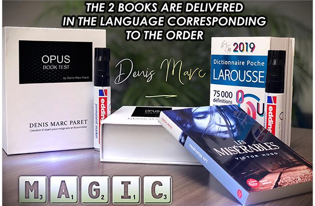 Opus Book Test - magic