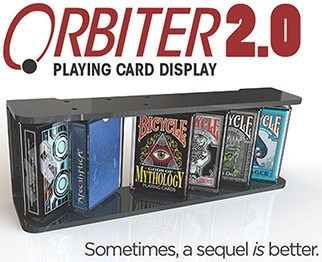Orbiter 2.0 Playing Card Display - magic