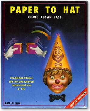 Paper to Hat Comic - magic