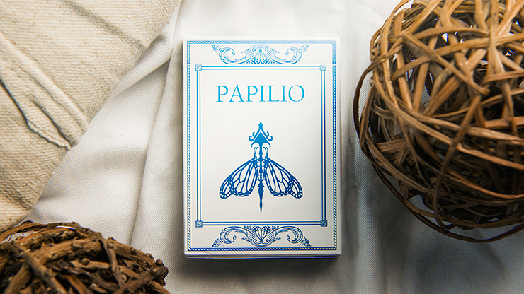 Papilio Ulysses Playing Cards - magic