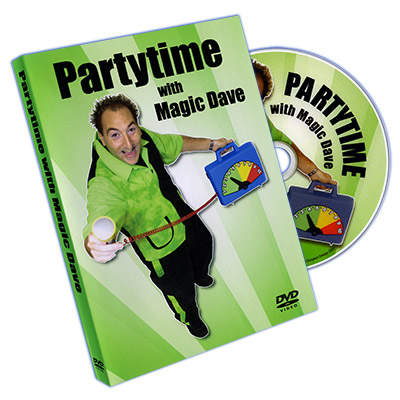Partytime with Magic Dave (Volumes 1 & 2) - magic