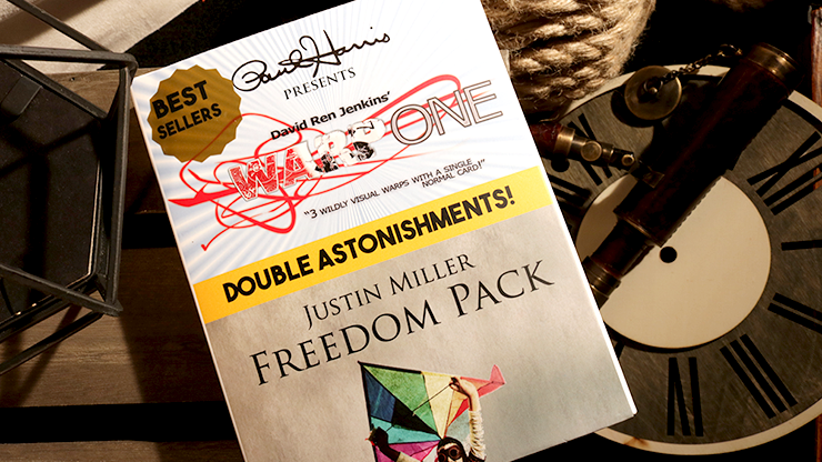 Paul Harris Presents Warp One/Freedom Pack Double Astonishments - magic