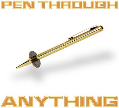 Pen Through Anything - magic